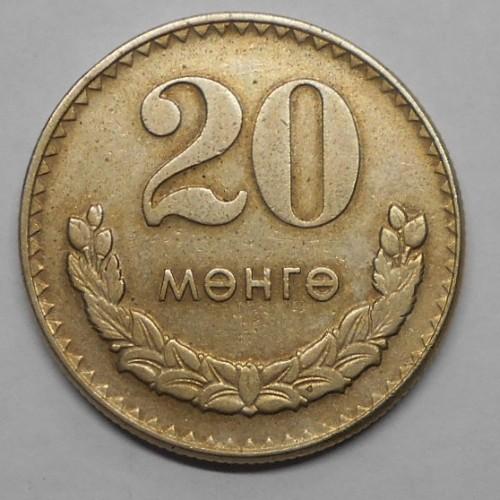 MONGOLIA 20 Mongo 1970