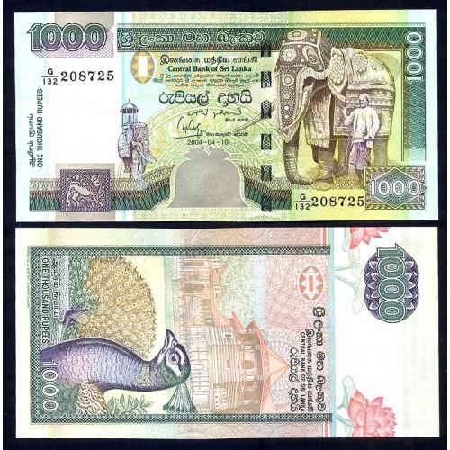 SRI LANKA 1000 Rupees...