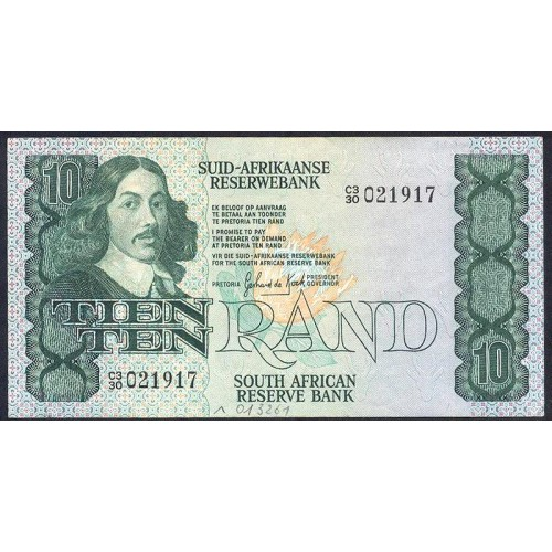 SOUTH AFRICA 10 Rand 1978