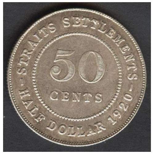 STRAITS SETTLEMENTS 50...