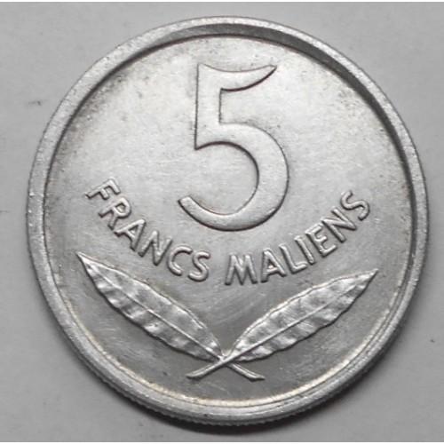 MALI 5 Francs 1961