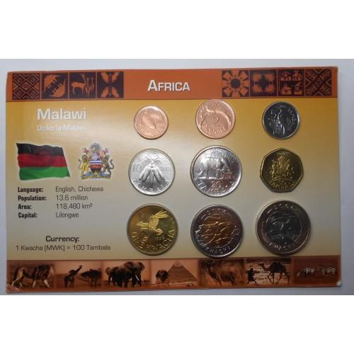 MALAWI Set coins 1995/2006