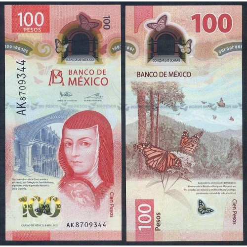 MEXICO 100 Pesos 08.05.2020...