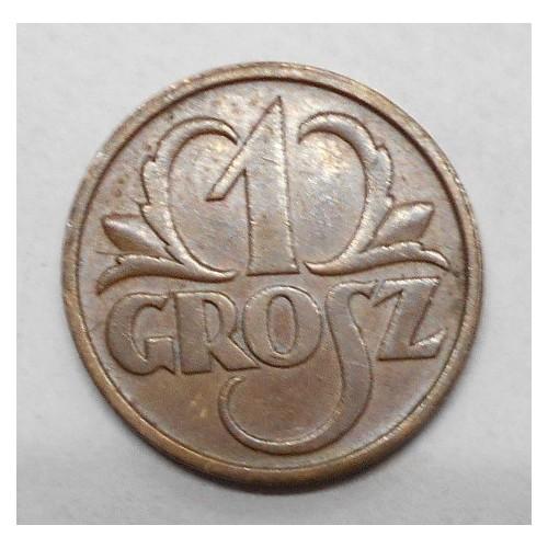 POLAND 1 Grosz 1936