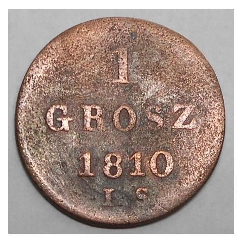 POLAND 1 Grosz 1810