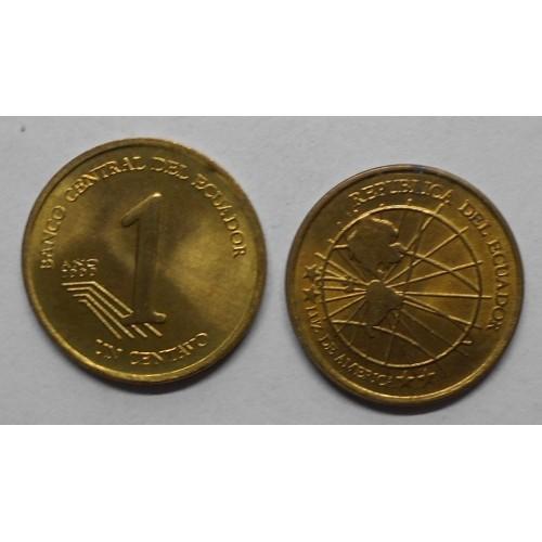 ECUADOR 1 Centavo 2000