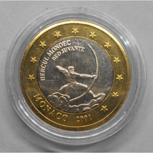 MONACO 1 Euro 2001...