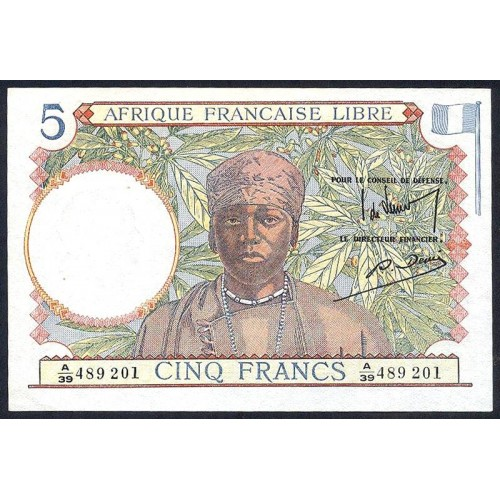 FRENCH EQUATORIAL AFRICA 5...