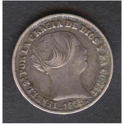 SPAIN 1 Real 1853 Isabel II