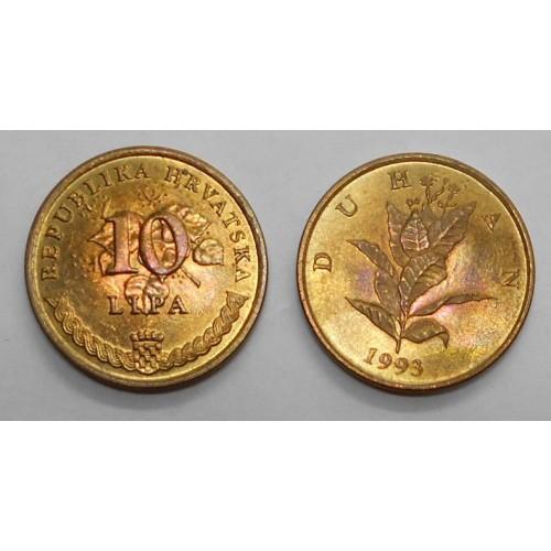 CROATIA 10 Lipa 1993