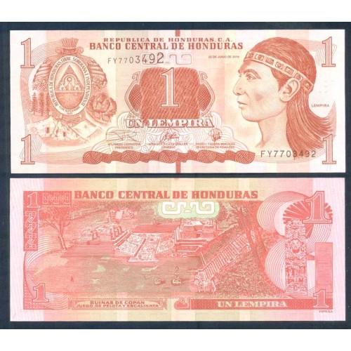 HONDURAS 1 Lempira 2019