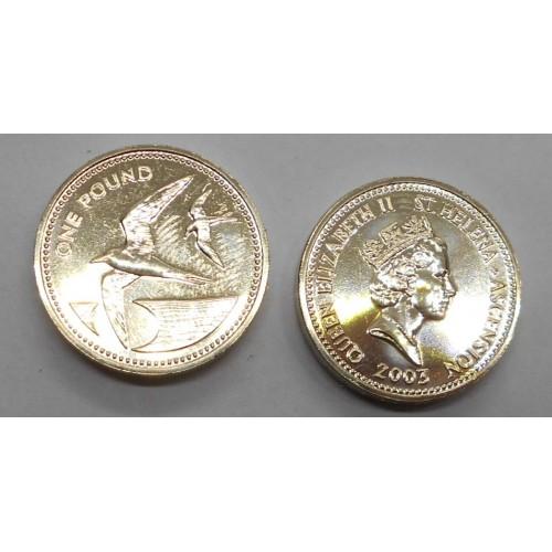 SAINT HELENA 1 Pound 2003