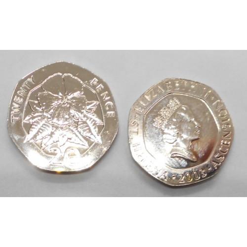 SAINT HELENA 20 Pence 2003
