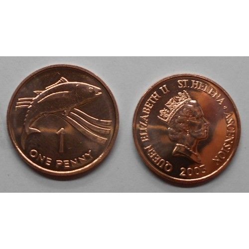 SAINT HELENA 1 Penny 2003