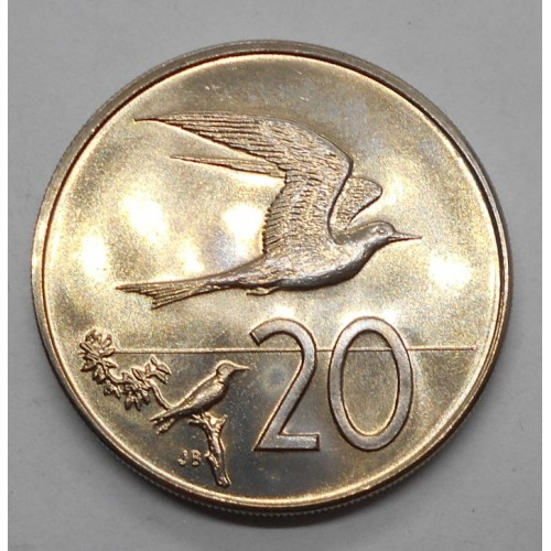 COOK ISLANDS 20 Cents 1972