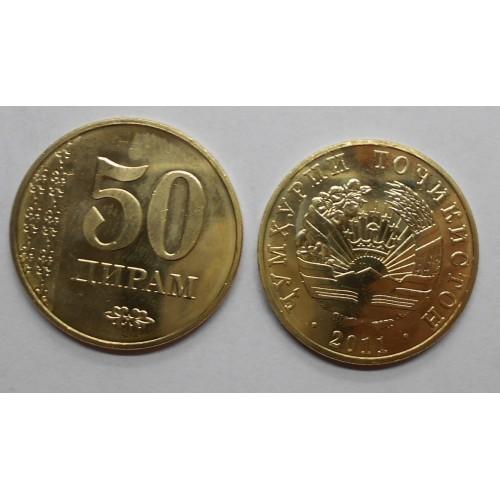 TAJIKISTAN 50 Drams 2011