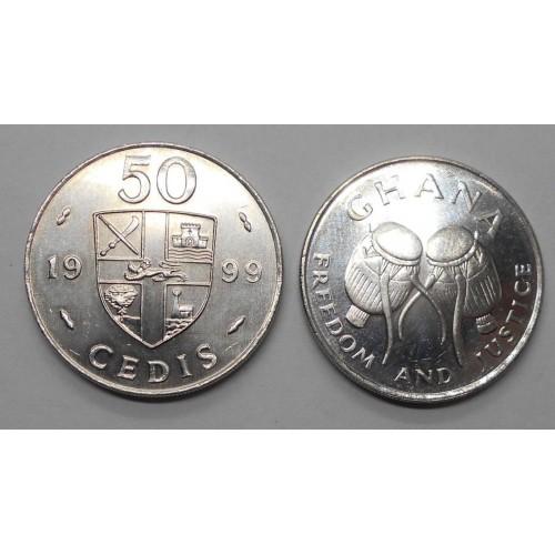 GHANA 50 Cedis 1999