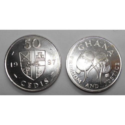 GHANA 50 Cedis 1997