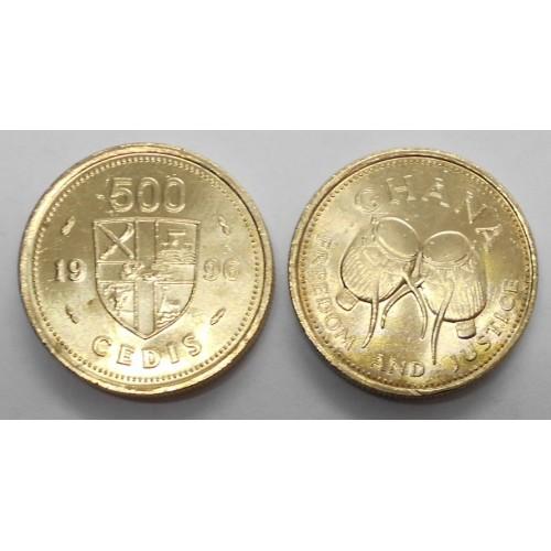 GHANA 500 Cedis 1996