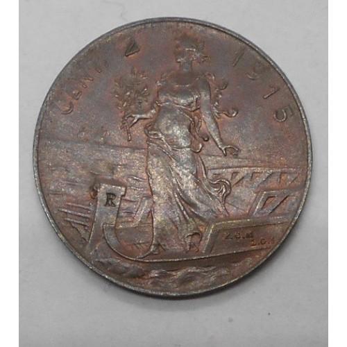 2 Centesimi 1915
