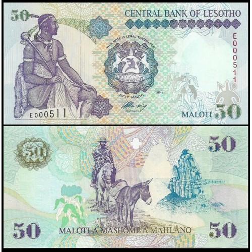 LESOTHO 50 Maloti 1997