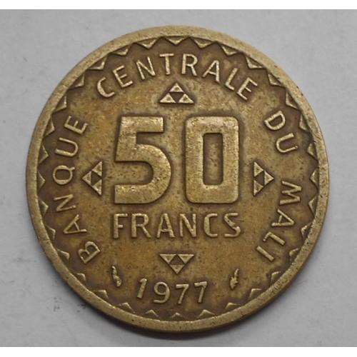 MALI 50 Francs 1977 FAO