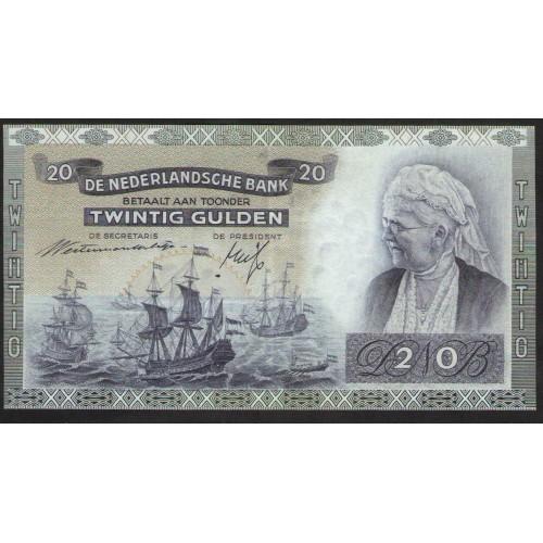 NETHERLANDS 20 Gulden 1941