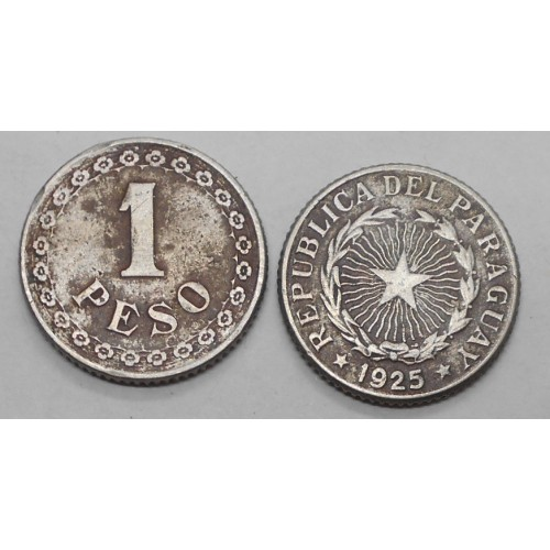 PARAGUAY 1 Peso 1925