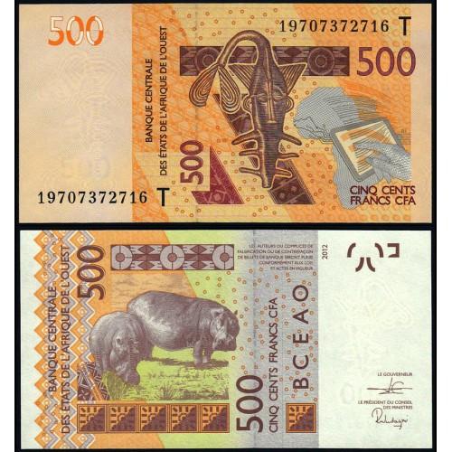 TOGO (W.A.S.) 500 Francs 2019
