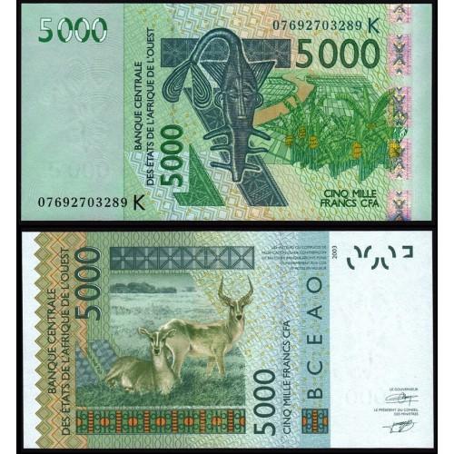 SENEGAL (W.A.S.) 5000...