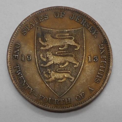 JERSEY 1/24 Shilling 1913