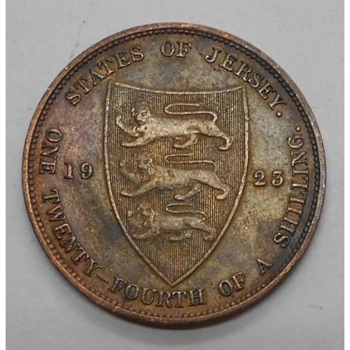 JERSEY 1/24 Shilling 1923