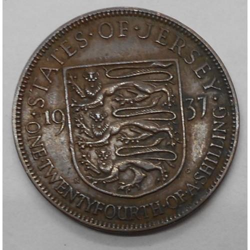 JERSEY 1/24 Shilling 1937