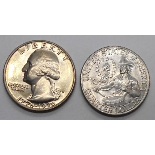 USA Washington Quarter 1776...