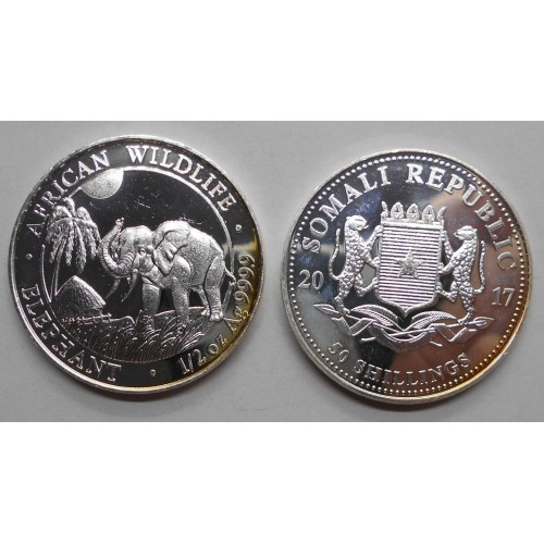 SOMALIA 50 Shillings 2017...