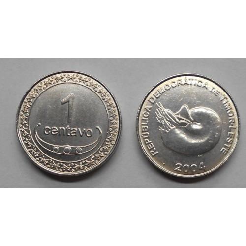 EAST TIMOR 1 Centavo 2004