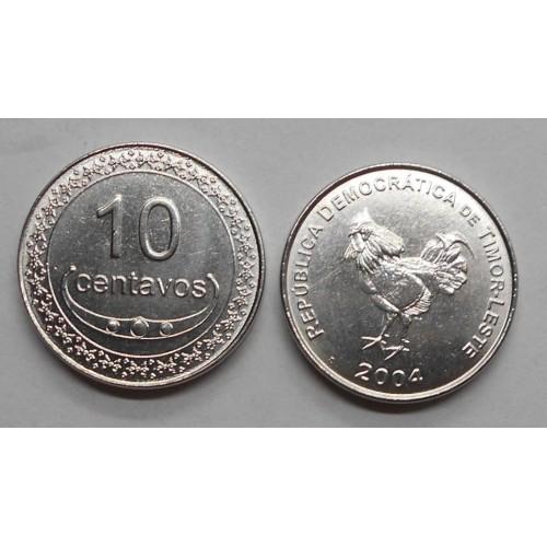 EAST TIMOR 10 Centavos 2004
