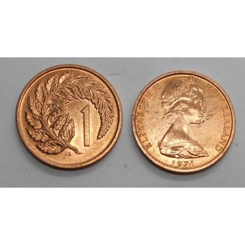 NEW ZEALAND 1 Cent 1971