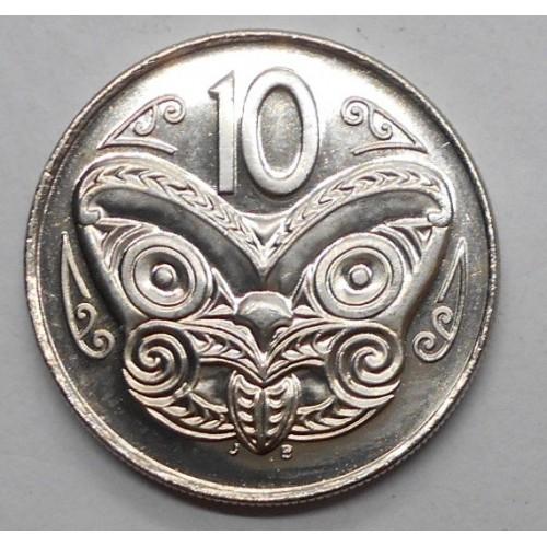 NEW ZEALAND 10 Cents 2004