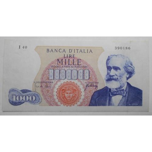 1000 Lire VERDI 1966