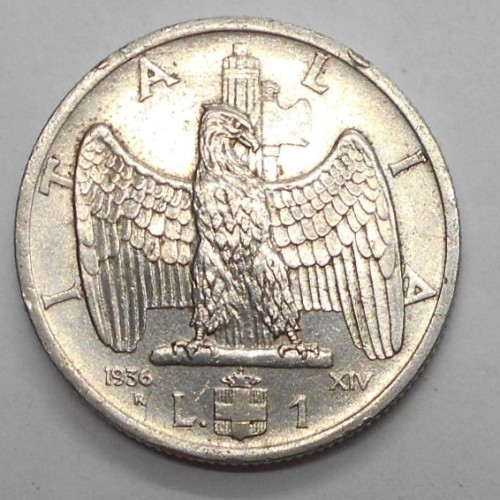1 LIRA 1936
