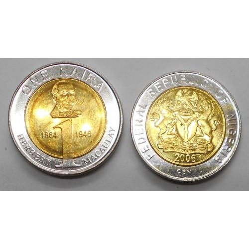 NIGERIA 1 Naira 2006...