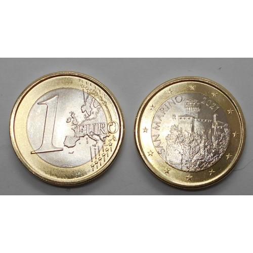 SAN MARINO 1 Euro 2021