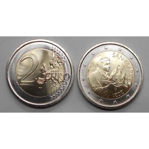 SAN MARINO 2 EURO 2021...