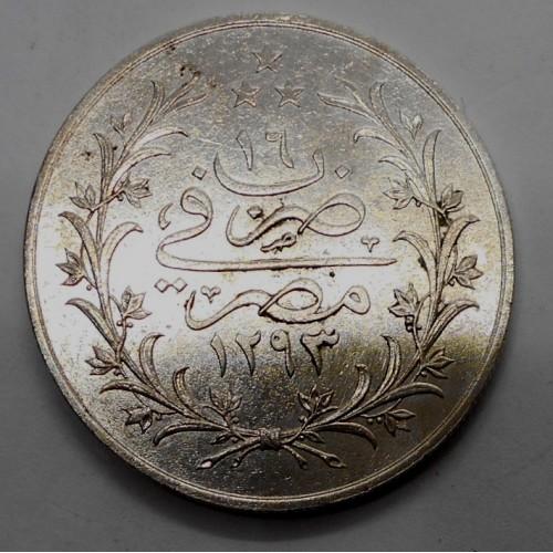 EGYPT 10 Qirh AH 1293/16...