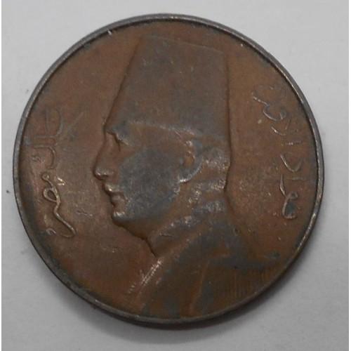 EGYPT 1 Millieme 1935H Fuad 1°
