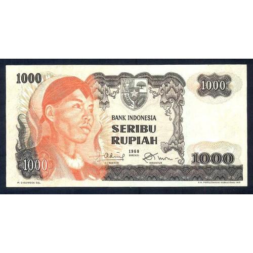 INDONESIA 1000 Rupiah 1968