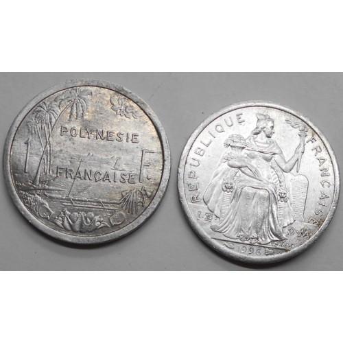 FRENCH POLYNESIA 1 Franc 1996