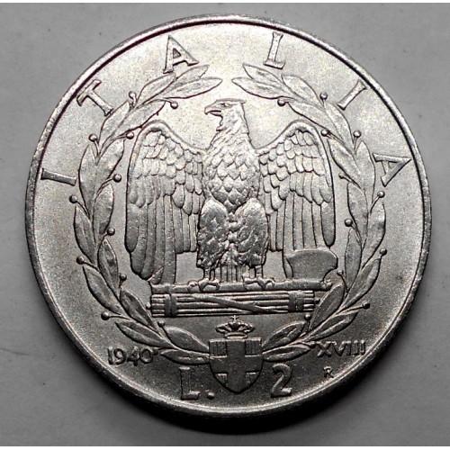 2 LIRE 1940 M.