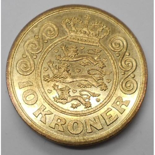 DENMARK 10 Kroner 1994